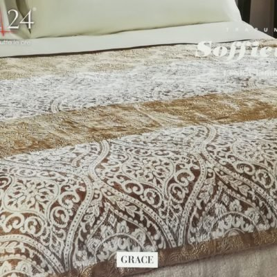 Ambrosia acca 24 sofficiosa trapunta piumone piumino plaid pile double face made in Italy GRACE matrimoniale