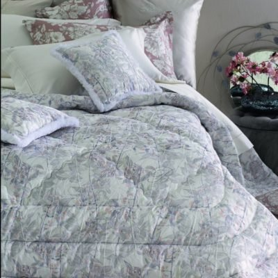Blumarine Home SVAD DONDI trapunta AMAL made in Italy 100% puro cotone percalle matrimoniale