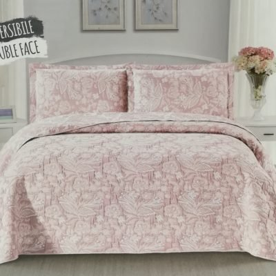 lovely shabby trpuntino copriletto boutis provenzale double face reversibile matrimoniale jacquard fantasia JAPAN